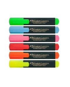 Resaltador Faber-Castell Flúo 'Varios Colores'