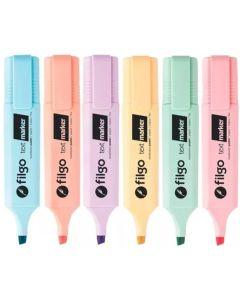 Resaltador text marker pastel 'Varios colores'
