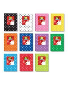 Cuaderno Laprida Forrado AB3 N°3 50 Hojas Rayadas'VARIOS COLORES'