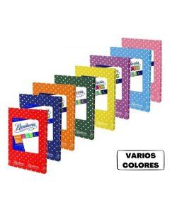 Cuaderno Rivadavia Forrado 50 Hojas Lunares 'VARIOS COLORES'
