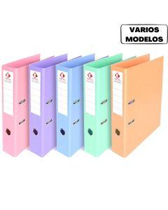 Bibliorato Oficio ancho colores pastel  'Varios colores'