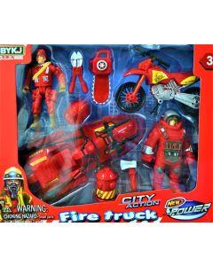 Set de rescate Bomberos fire truck