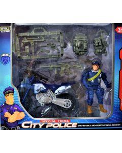 Set de policia CITY POLICE