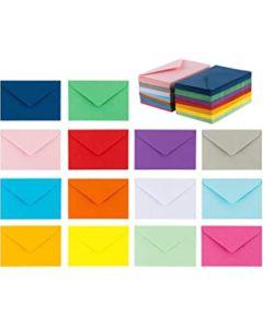 Sobre papel color tarjeta (75 x 105 mm)