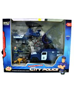 Set de policia CITY POLICE grande