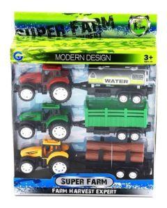 Set de 3 tractores rurales Modern desing