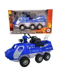 Camion tanque policia FIRE RESCUE TEAM