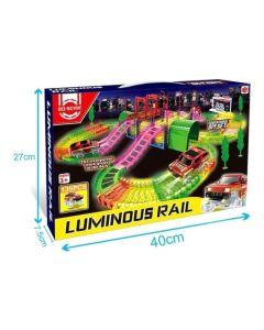 Pista Bo Serie Luminous Rail 135 pcs