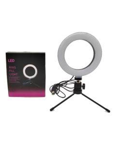 Aro de led ring fill light con tripode