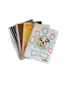 Cuaderno Espiral Cuadriculado x42H