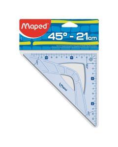 Escuadra Escolar 45° Geometric