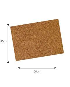 Plancha de Corcho 60x45 1MM