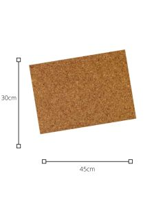 Plancha de Corcho 30x45 2MM