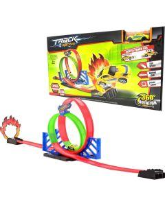 Pista Track Racing 360° Rotation Doble giro