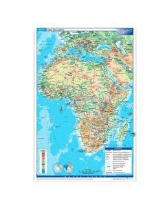 Mapa N°3 x4 unidades ÁFRICA fisico/Politico