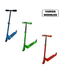 Monopatin scooter 2 ruedas 'varios colores'