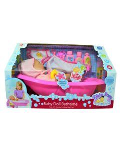 Bebote Baby doll Bathtime 'Tutu 16¨¨ Newborn deluxe bath sex'