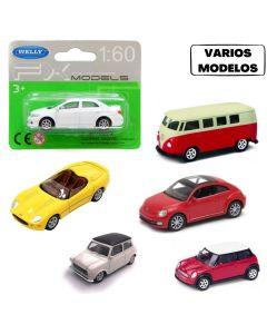 Autos coleccionables Welly 1/60