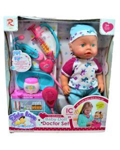 bebote Baby Doll Doctor Set