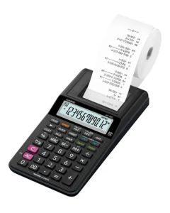 calculadora con impresara y adaptador HR-8RC