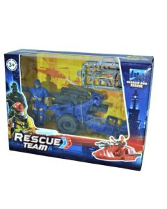 Rescue Team Soldado con cañon