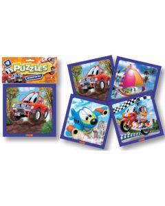 Puzzle 4 piezas Transporte