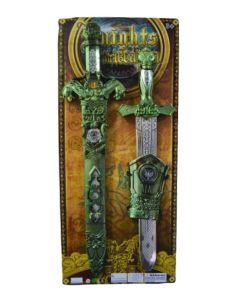Espadas con muñequera guerrero Knights