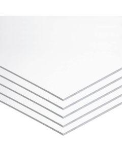 Foam board moldeable 50x70 cm. blanco