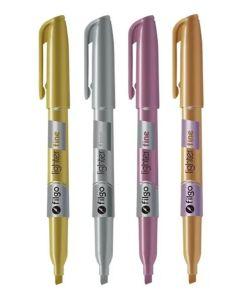 Resaltadores Filgo Lighter Fine Metalizado 'Varios colores'