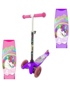 Monopatin scooter unicornio