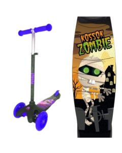 Monopatin scooter zombie con luz