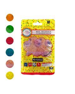 Masas slime translucidas de colores 50 gr,
