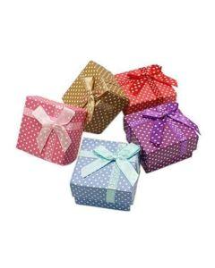 Cajitas de regalo cuadradas 'varios colores'