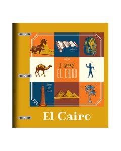 Carpeta A4 x120 Hojas Rayadas Arte City