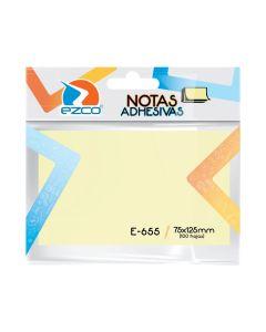 Notas Adhesivas Amarillas 75x125