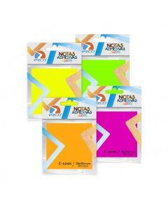 Notas Adhesivas Neon 75x75