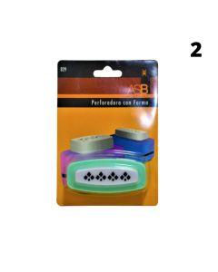 Sacabocados/Perforadora para bordes 'Varias formas'