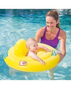 Salvavidas con asiento p/ bebé 69cm diametro aprox.