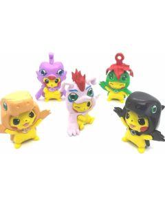Muñeco Pikachu x5 personajes