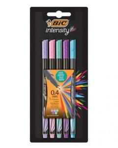 5 Microfibras Intensity colores Pastel
