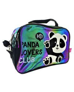 Bolso mediano panda tornazolado
