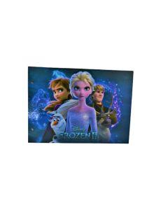 Carpeta 2 Tapas Carton Duro Nº5 Frozen
