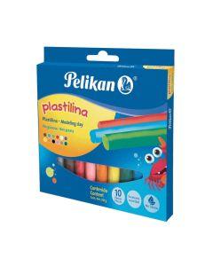 Plastilina Pelikan 10 unidades de colores