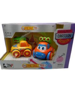 Set de 2 autos Cartton para niños
