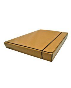Carpeta tipo caja Kraft N°4 Oficio