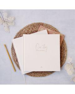Cuaderno 16x19 128 hojas rayadas Journal Love