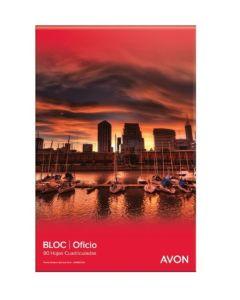 Block Oficio cuadriculado Avon