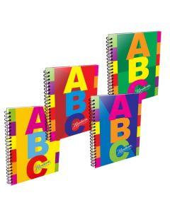 Cuaderno A4 x100h Cuadriculado Tapa Dura ABC