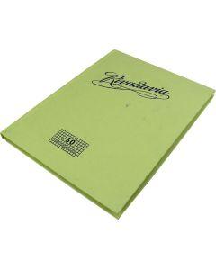 Cuaderno Tapa Dura Cuadriculado  X50h