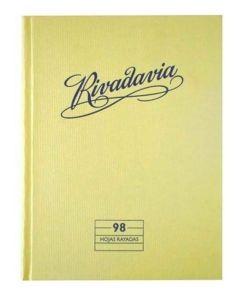 Cuaderno Tapa Dura Rayado X98H